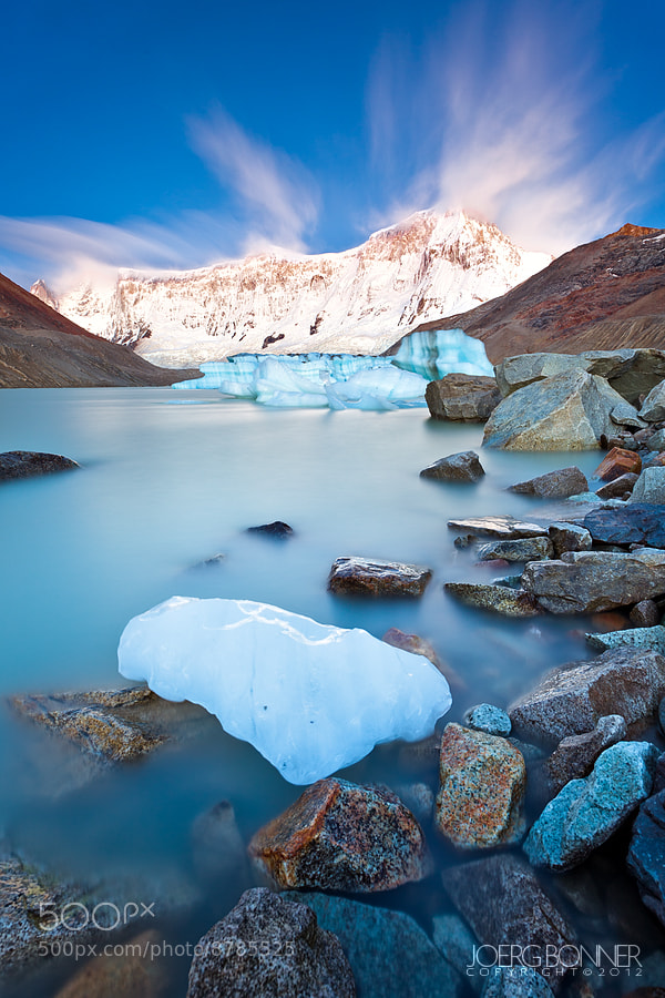 Photograph The Icy Blues by Joerg Bonner on 500px