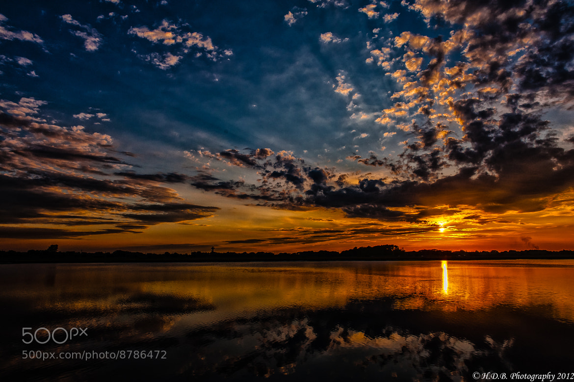 Photograph Super Sunset! by Harold Begun on 500px