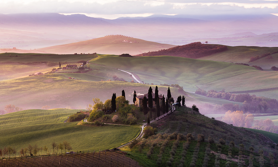 Photograph Morning in Tuscany by Hans Kruse on 500px