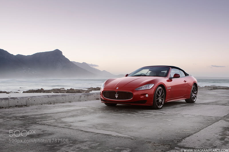 Photograph Maserati Grancabrio Sport by Seagram Pearce on 500px