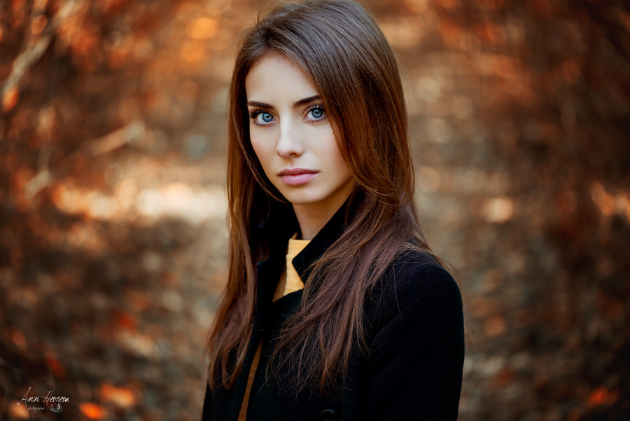 Autumn portrait 5 by Ann Nevreva on 500px.com