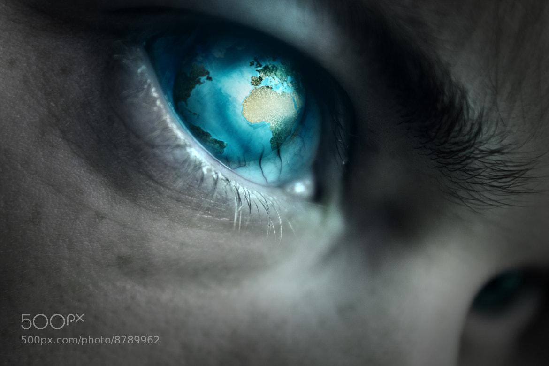Photograph World Eye by Lasse B on 500px