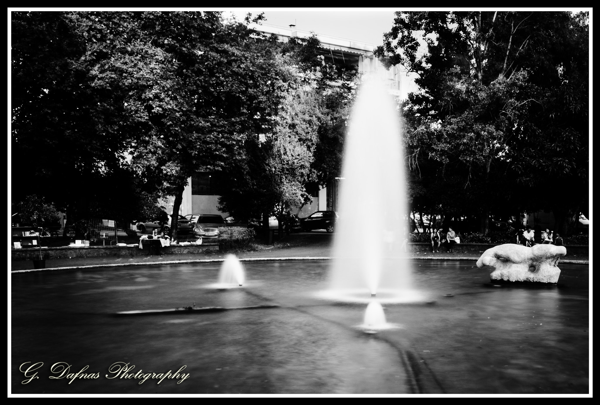 Photograph Fountain by George  Dafnas on 500px
