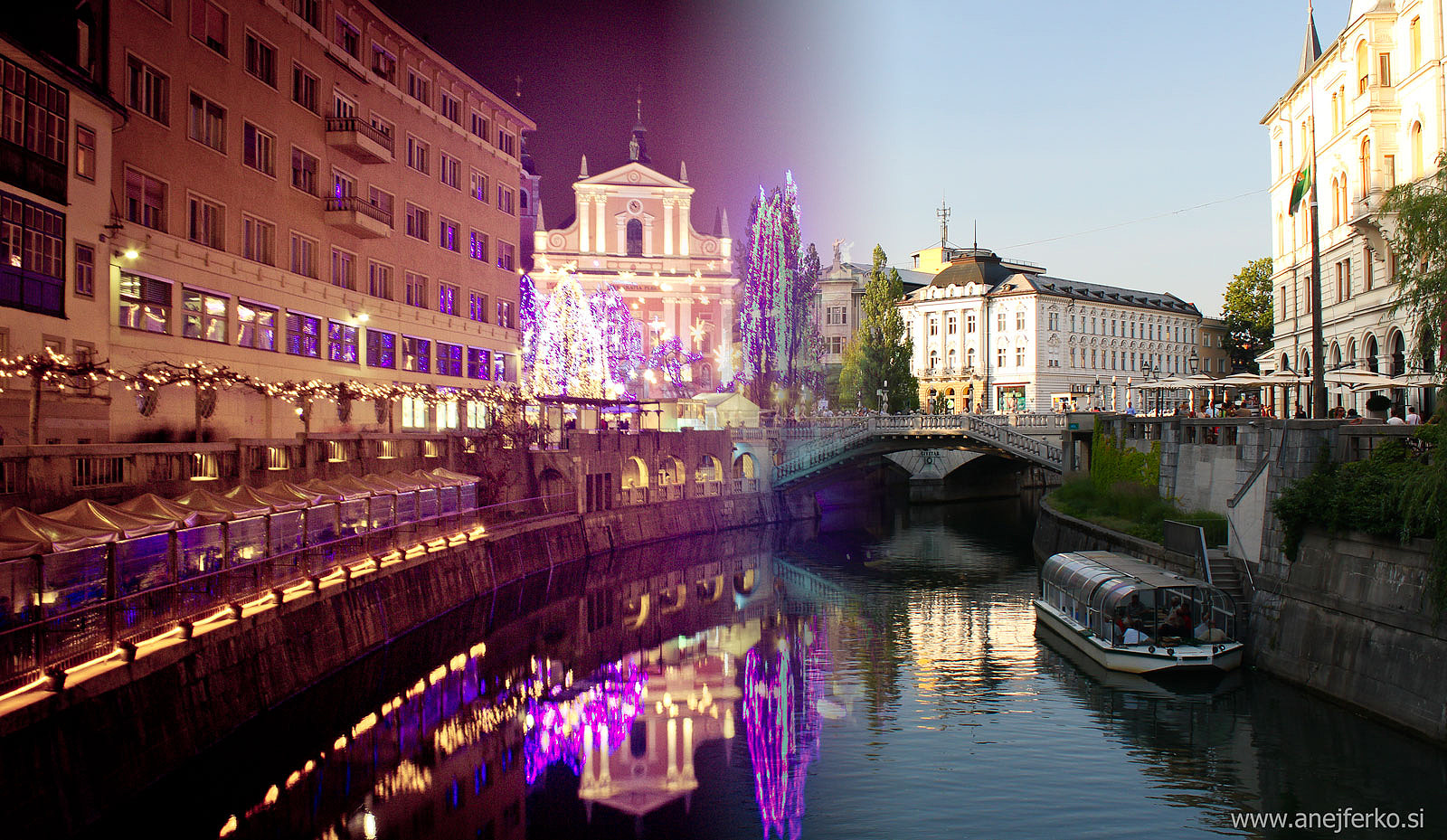 Photograph Ljubljana from Winter to Summer by Anej Ferko on 500px