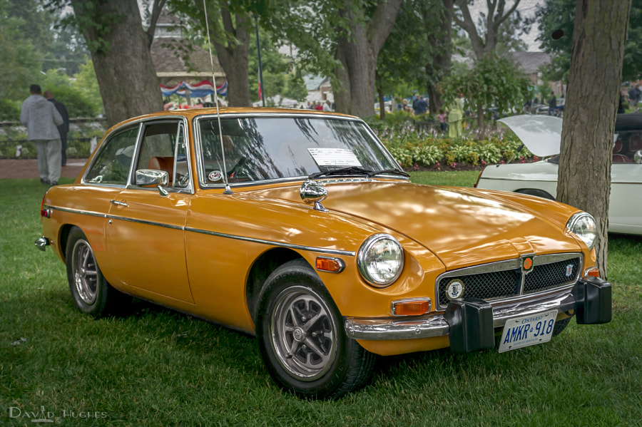 My 1974 MGB GT encore