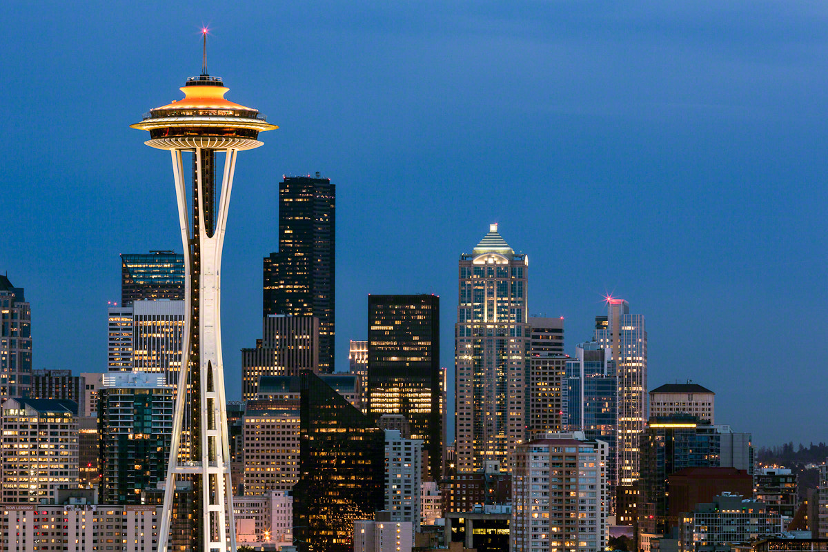 Photograph Kerry Park by Nicole S. Young on 500px