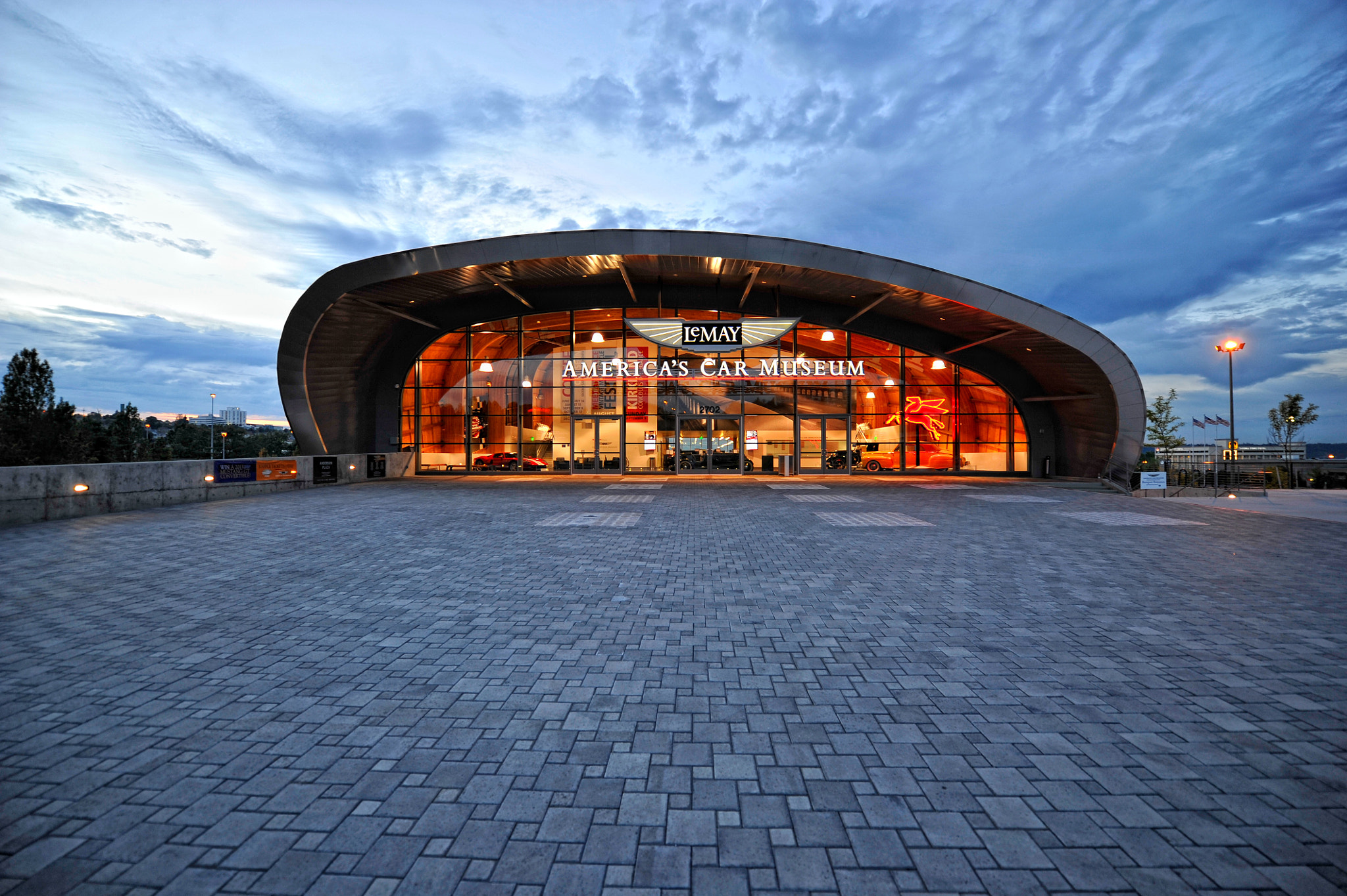 Photograph The new Lemay car museum  by Rick Takagi on 500px