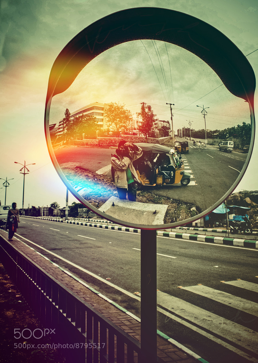 Photograph Capturing myself.. by Krishna Chaitanya on 500px