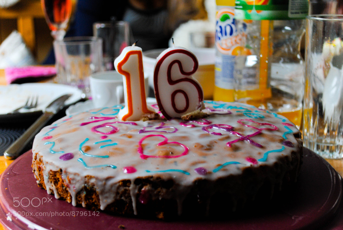 Photograph Birthday cake by Vita R. on 500px