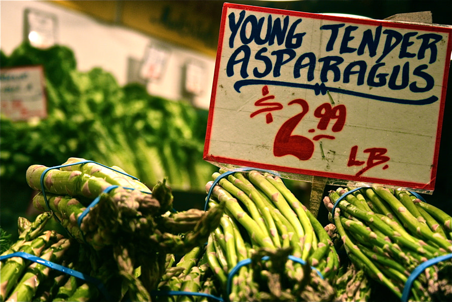 Young Tender Asparagus