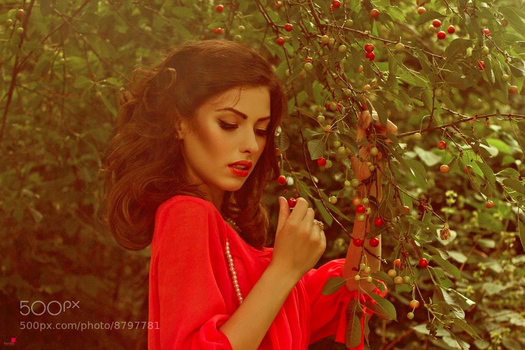 Photograph Cherry girl by Remita Moshkova (Kishmariia) on 500px