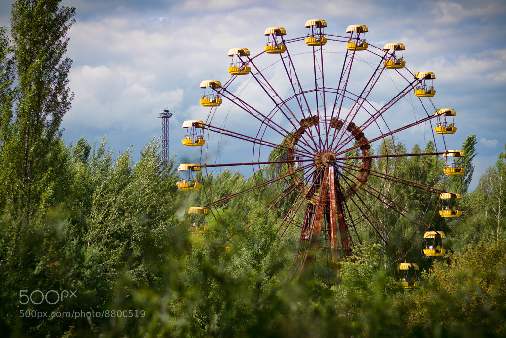 Photograph The Pripyat Ferris Wheel by Kevin Leitch on 500px