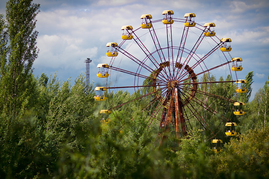 The Pripyat Ferris Wheel by Kevin Leitch on 500px.com