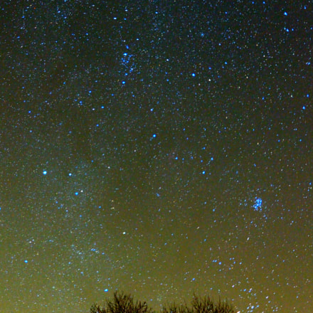 Milky Way at Sutton Bank