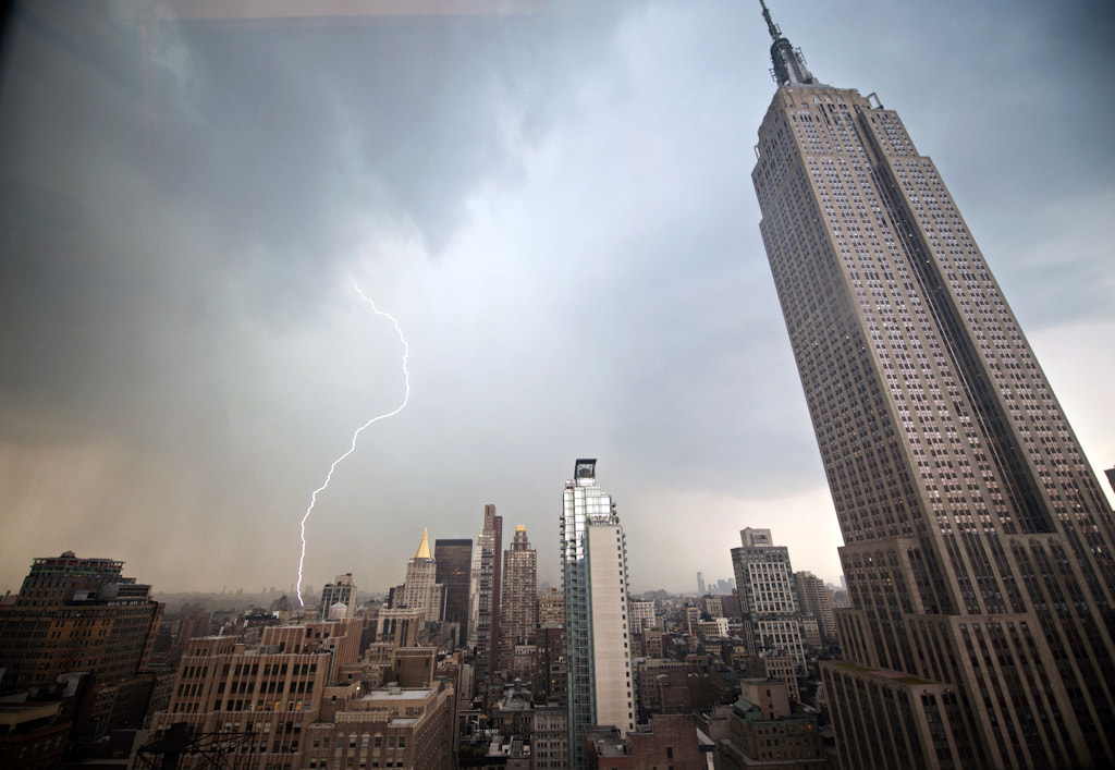 Photograph Manhattan Storm by Navid Baraty on 500px