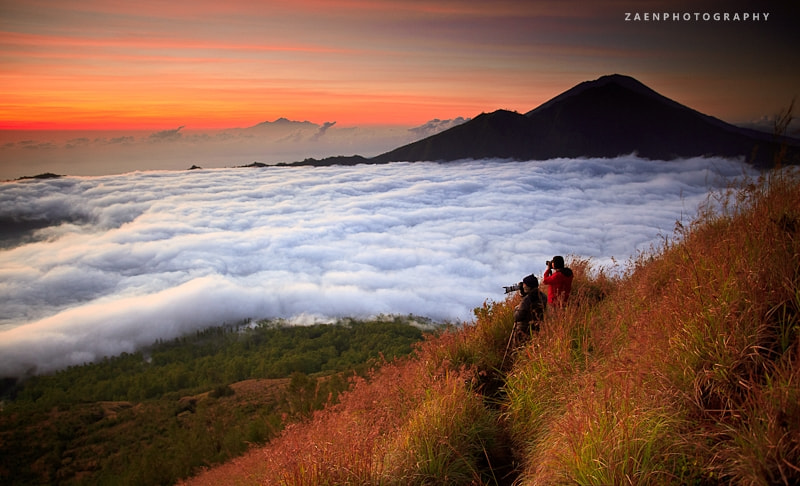 Photograph Sunrise Over The Clouds by Rido Zaen on 500px