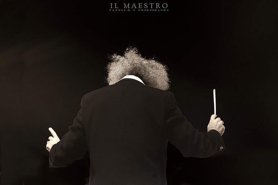 Photograph Il Maestro by Yannis Hatzianastasiu on 500px