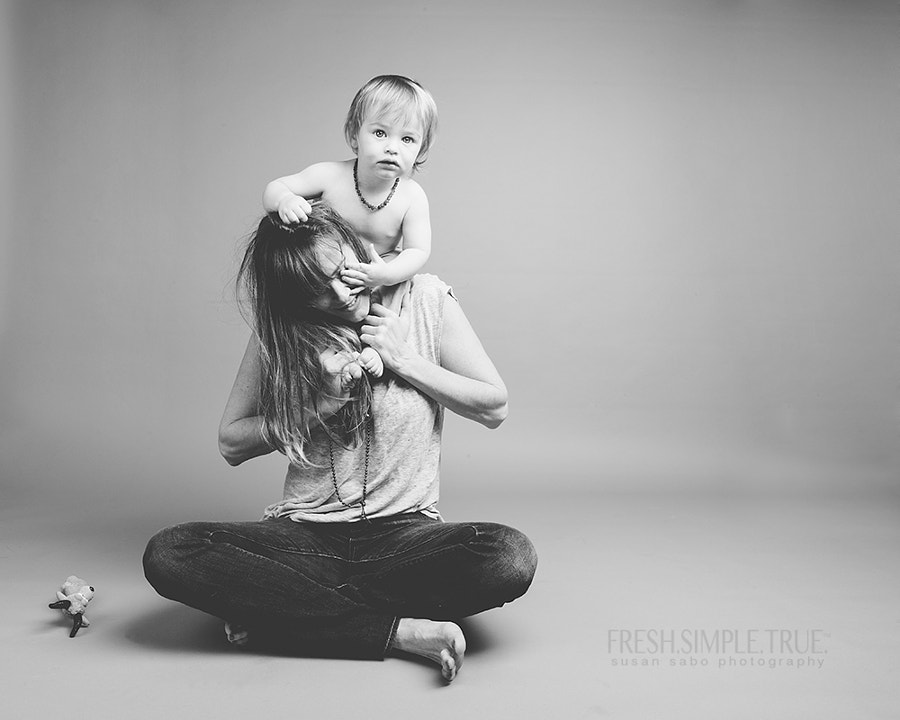 "I was a single mom for most of my daughter's life and when I meet a young, single mom, I feel an instant camaraderie.   As Cuba Gooding Jr. said in ""Jerry Maguire"" we ""have been to the circus [we] have been to the puppet show and [we] have seen the strings.""   Got to meet a single mom today, Alex, and photograph her and her young son, Jack."