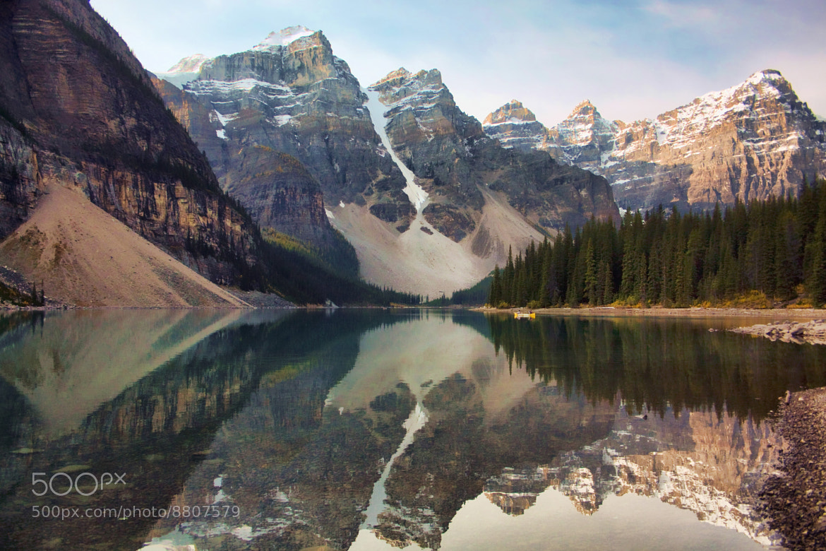 Photograph Early Morning at Moraine Lake by Amanda White on 500px