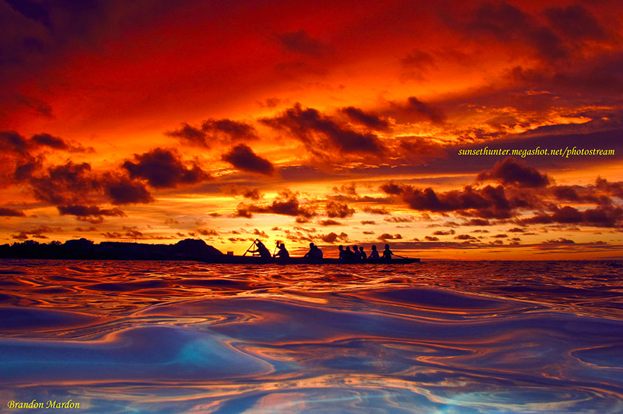 Photograph Paddling In Paradise by Brandon  Mardon on 500px