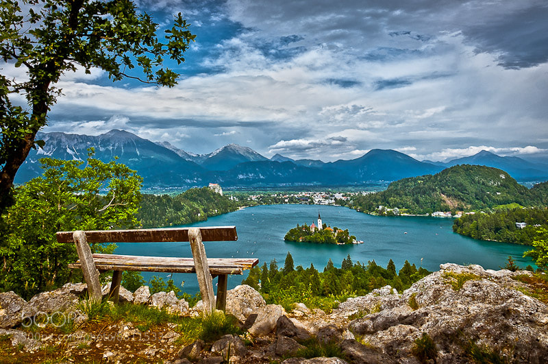 Photograph Postcard from Bled by Brane Kosak on 500px