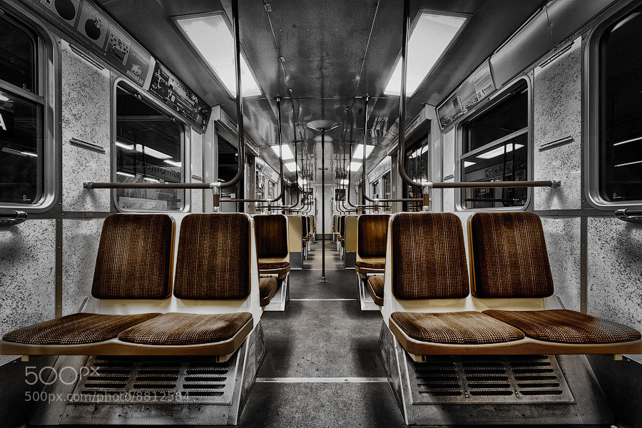 Photograph A Subway Car in Stockholm by Alexander Dragunov on 500px