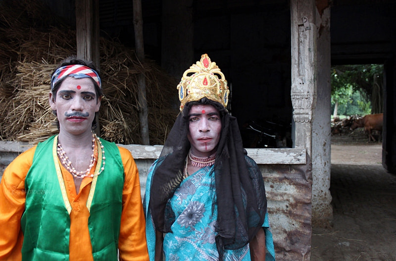 Photograph Both are Male with Make Up by PRASUN BISWAS on 500px