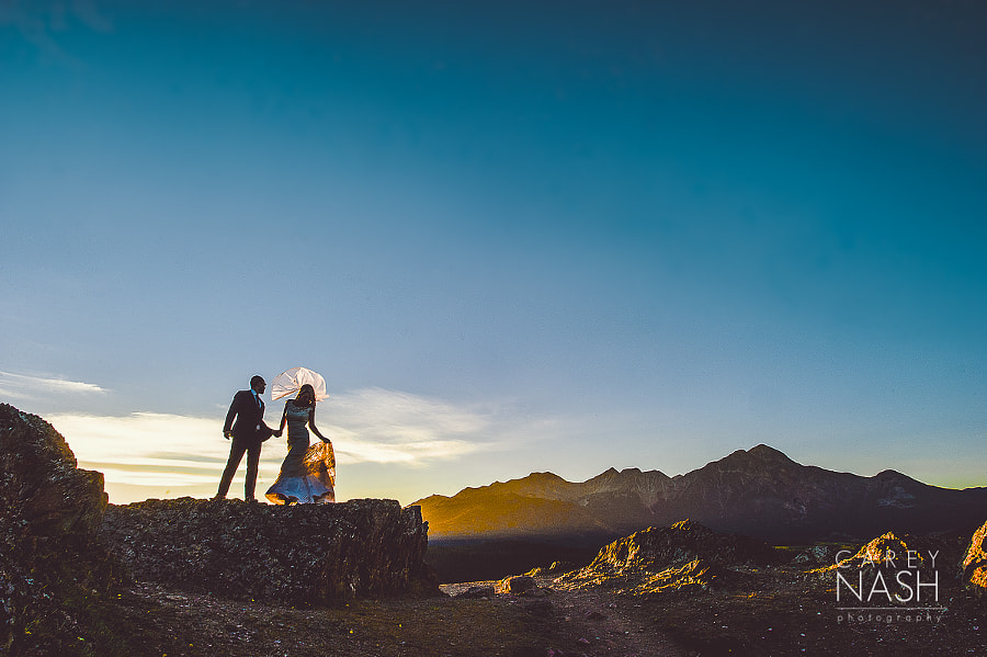 Photograph wedding mountains by Carey Nash on 500px