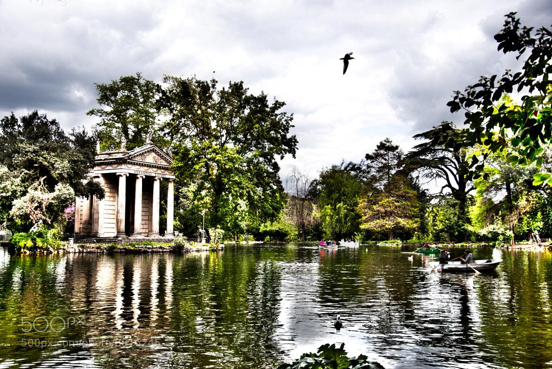Photograph Villa Borghese Rome by Francesco Zappalà on 500px