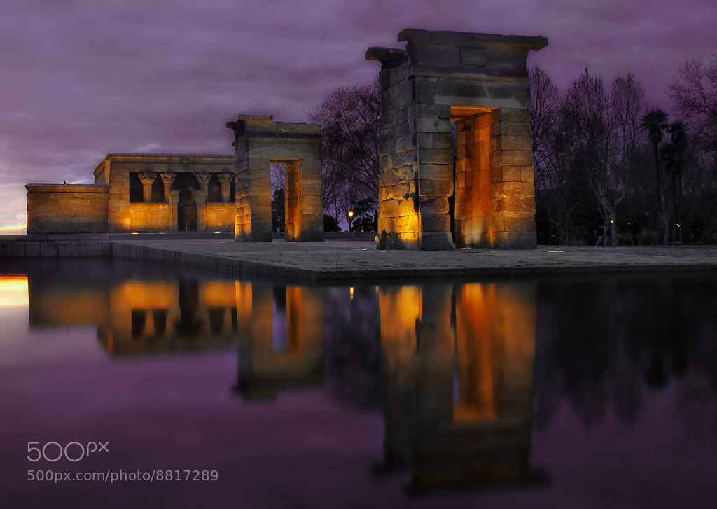 Photograph Debod by Amador Funes on 500px