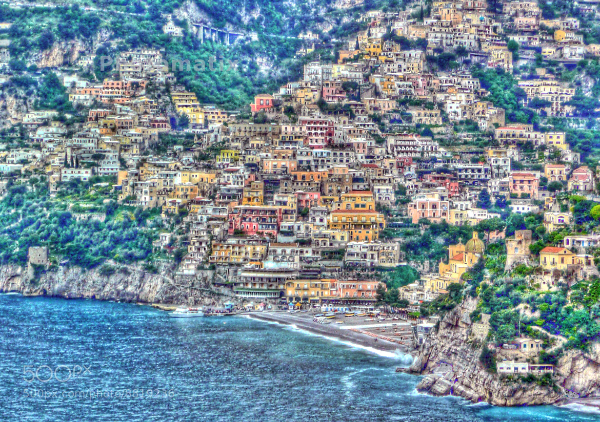 Photograph Below Positano by Mark Luftig on 500px