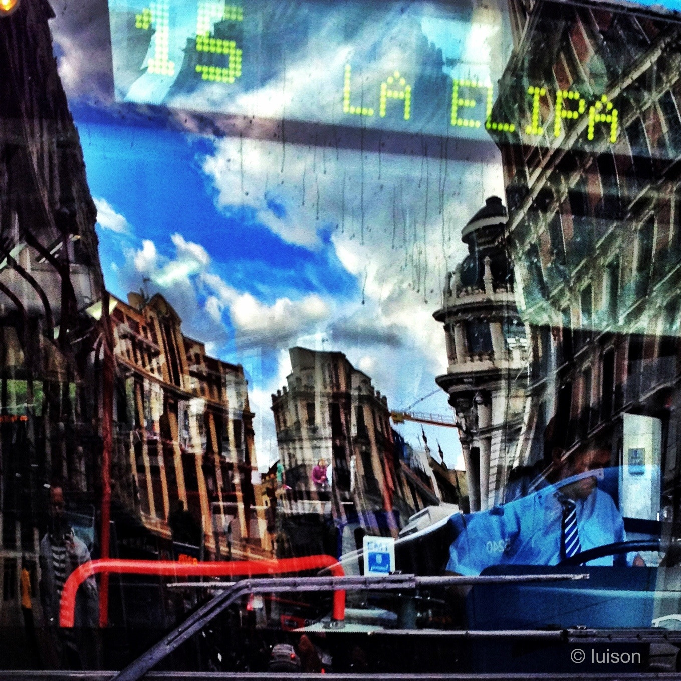 Photograph Madrid reflected on a bus (VI) by Luis Rodriguez on 500px