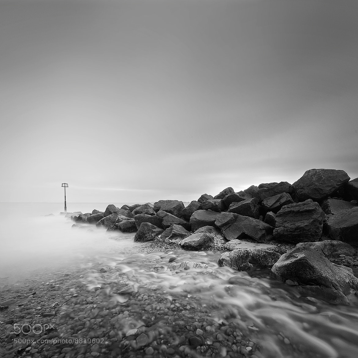 Photograph Amroth flooding sea defense by Andy Lee on 500px