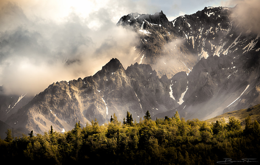 Alaska Mountains by Banan Tarr on 500px.com