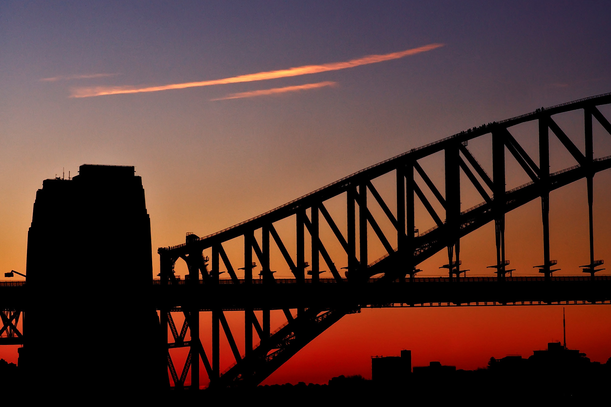 Photograph Dusk at Harbour Bridge by Mike m13/9 on 500px