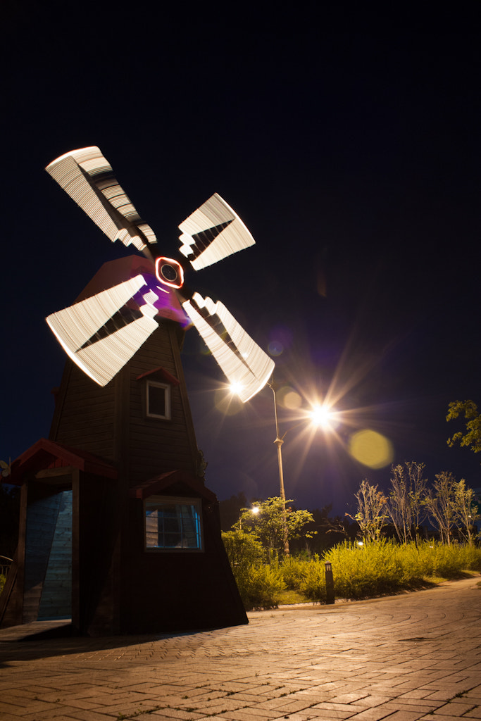 Photograph Windmills by GW Park on 500px