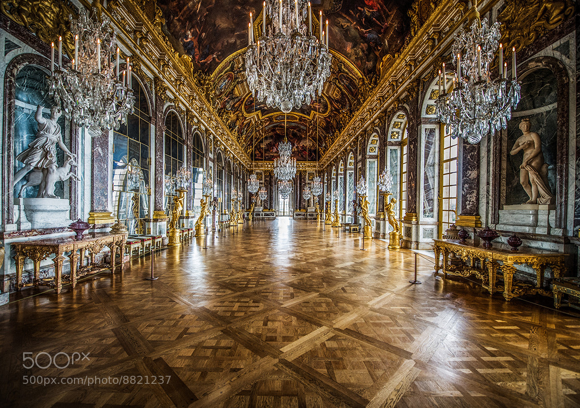 Photograph Hall of Mirrors at Versailles by Scott Kelby on 500px