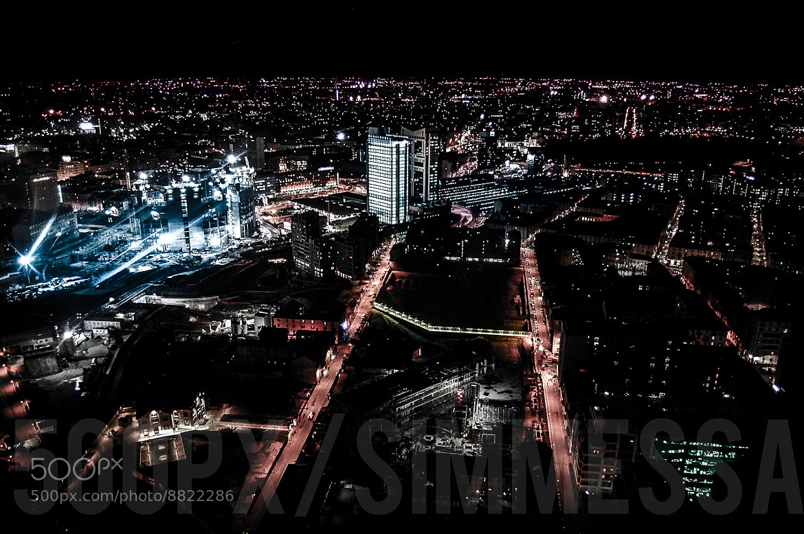 Photograph Cybernetic nights: Milano by Simone Messaggi on 500px