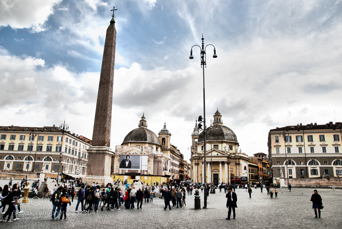 Photograph Piazza del popolo, Rome by Francesco Zappalà on 500px