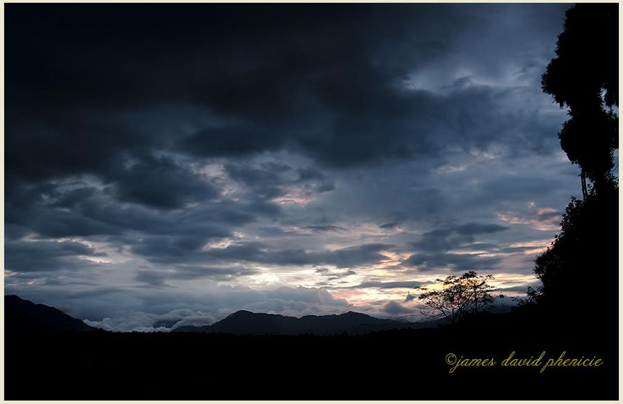 Nepal Series:  Sunset in Nepal