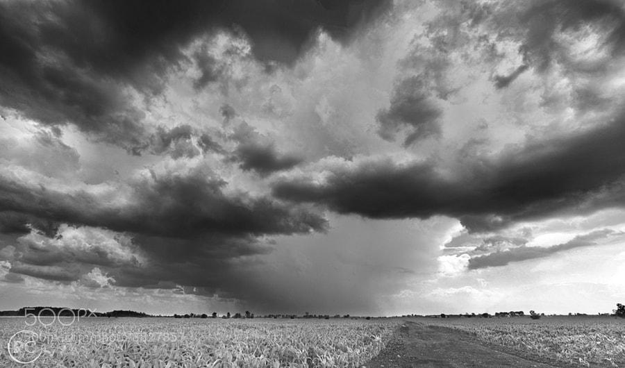 Isolated Storm Cell by Richard Gottardo (RichardGottardo) on 500px.com