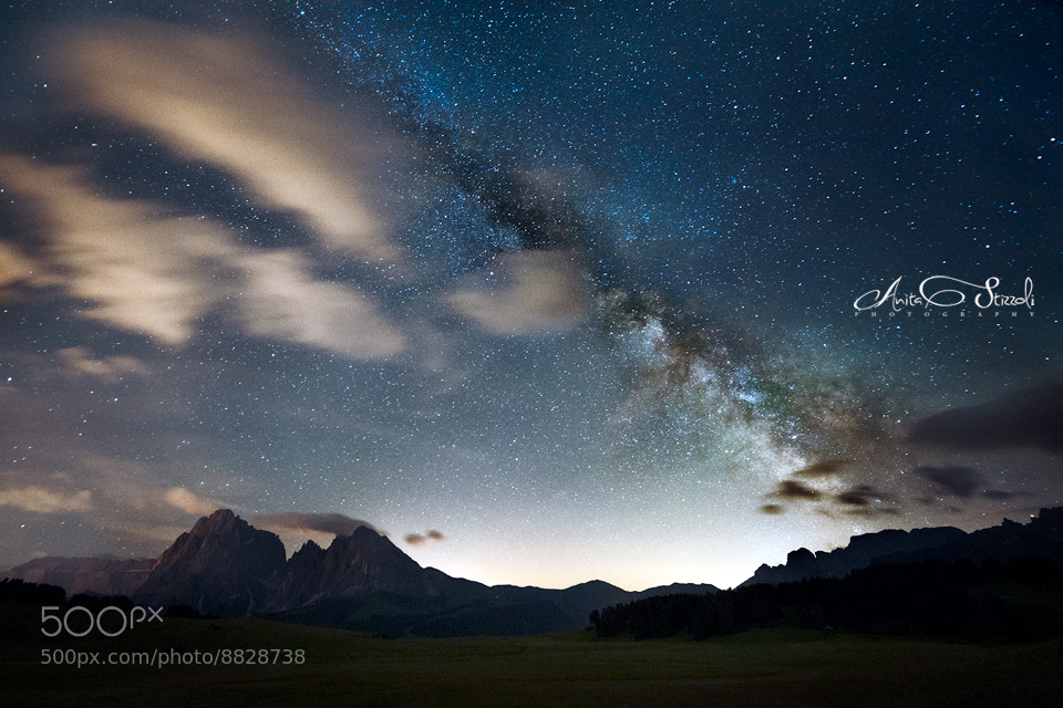 Photograph Milky way by Anita Stizzoli on 500px