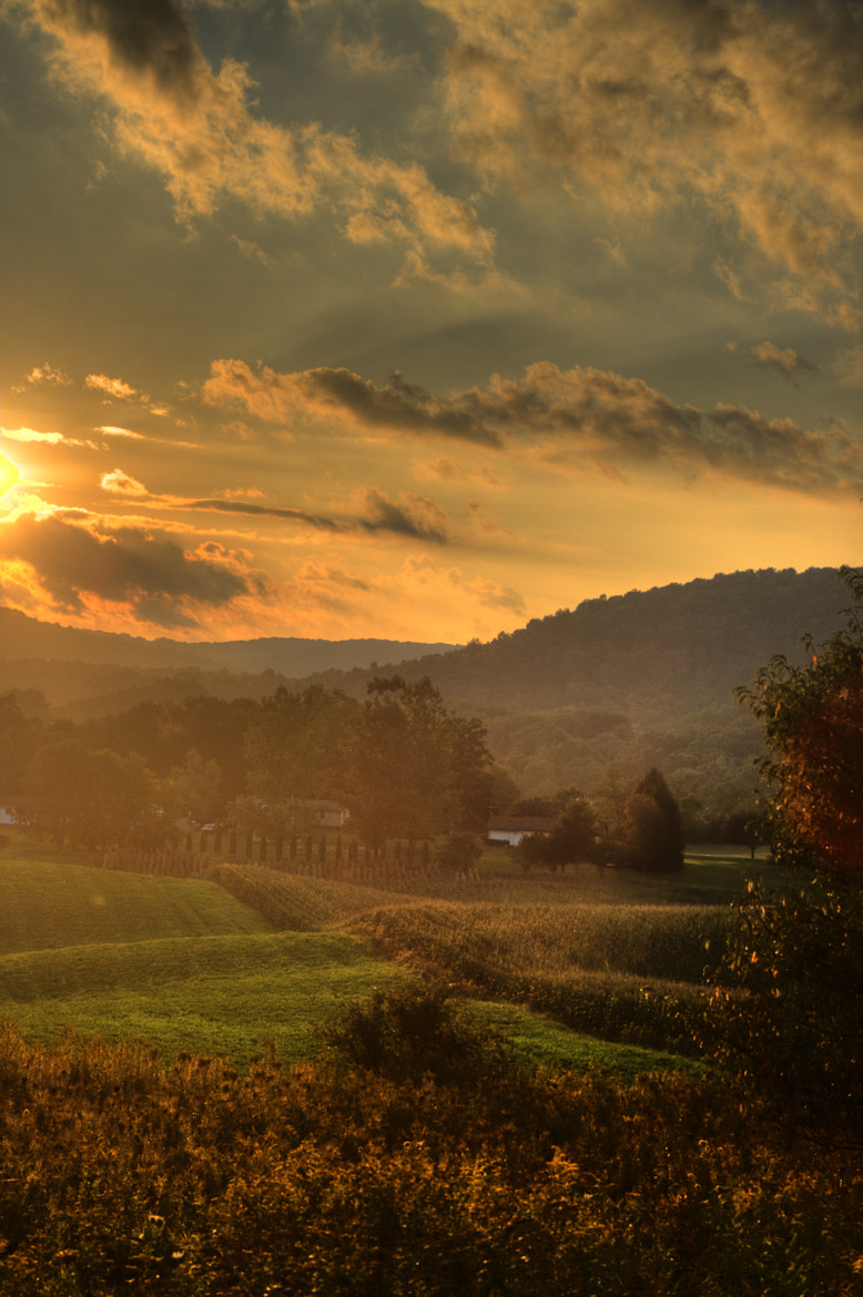 Photograph Rural Sunset by John Carlson III on 500px