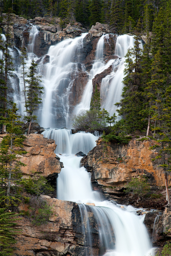 Photograph Tangle Fall, Jasper National Park AB. by Gary Kuiken on 500px