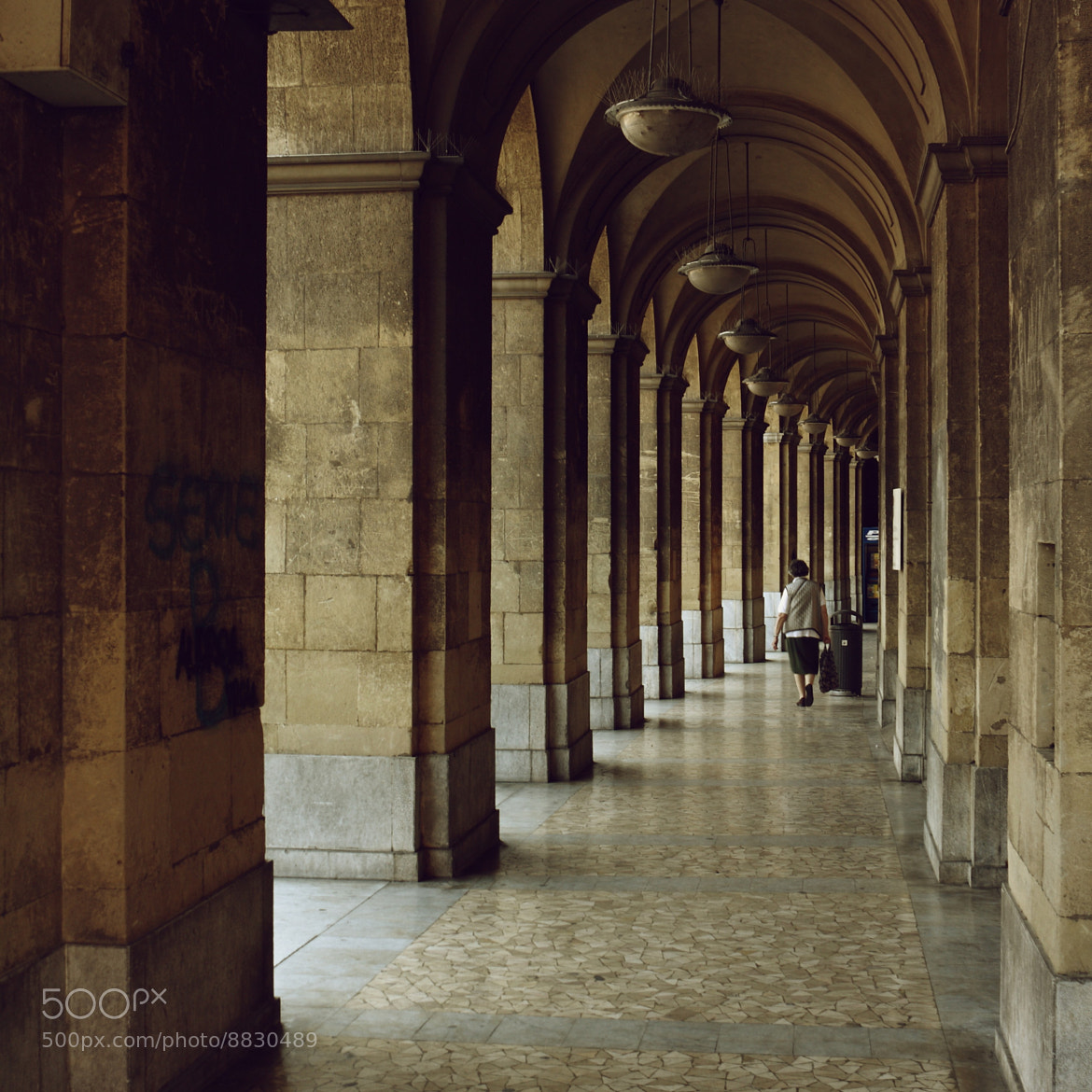 Photograph Arcades of Pisa - Serie B by Bruno R. on 500px
