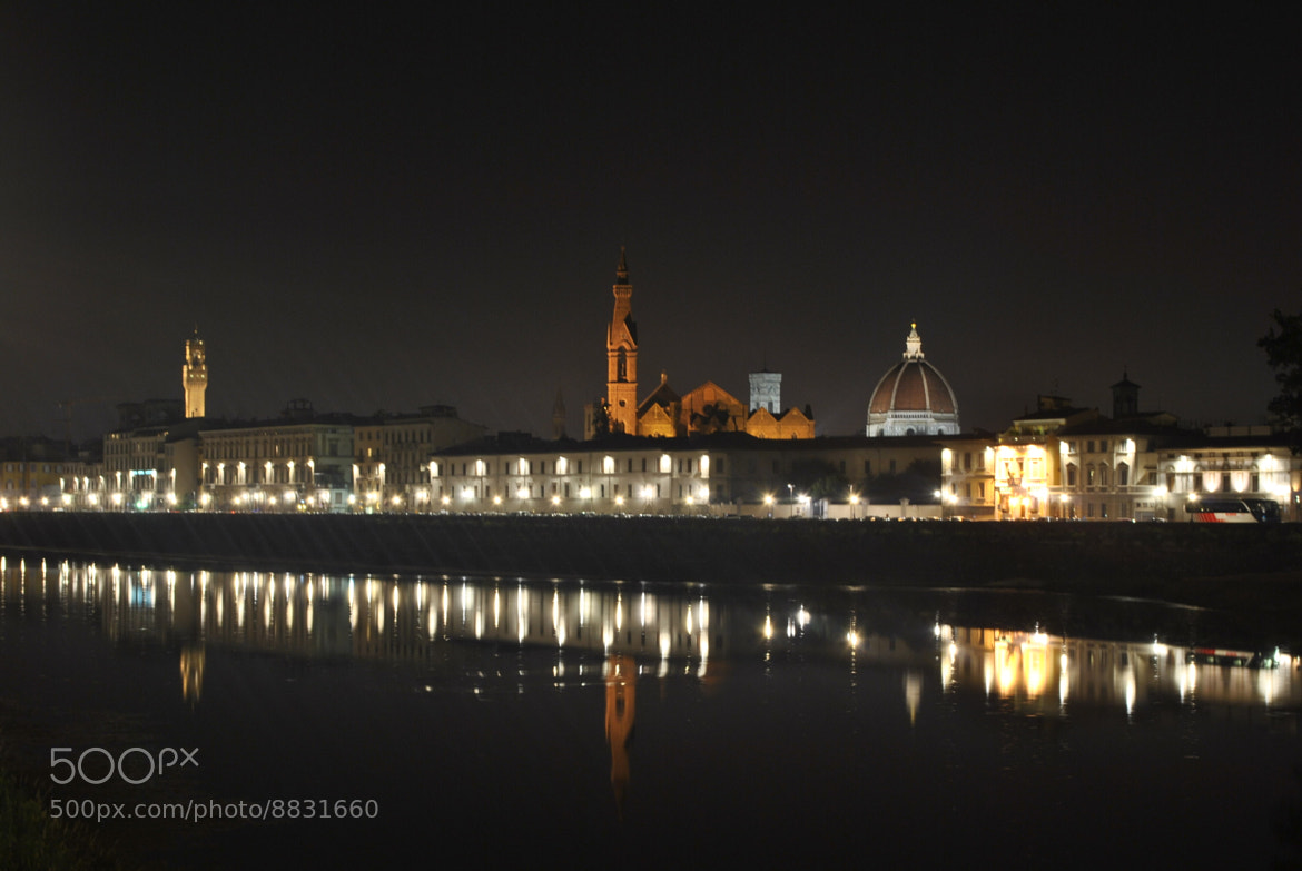 Photograph Firenze by night by Andrea Ricci on 500px