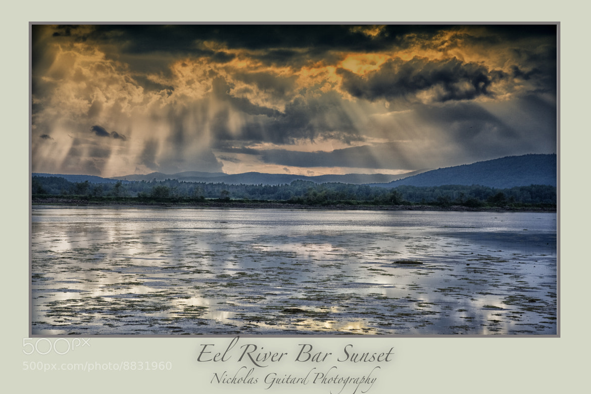 Photograph Eel River Bar Sunset by Nicholas Guitard on 500px