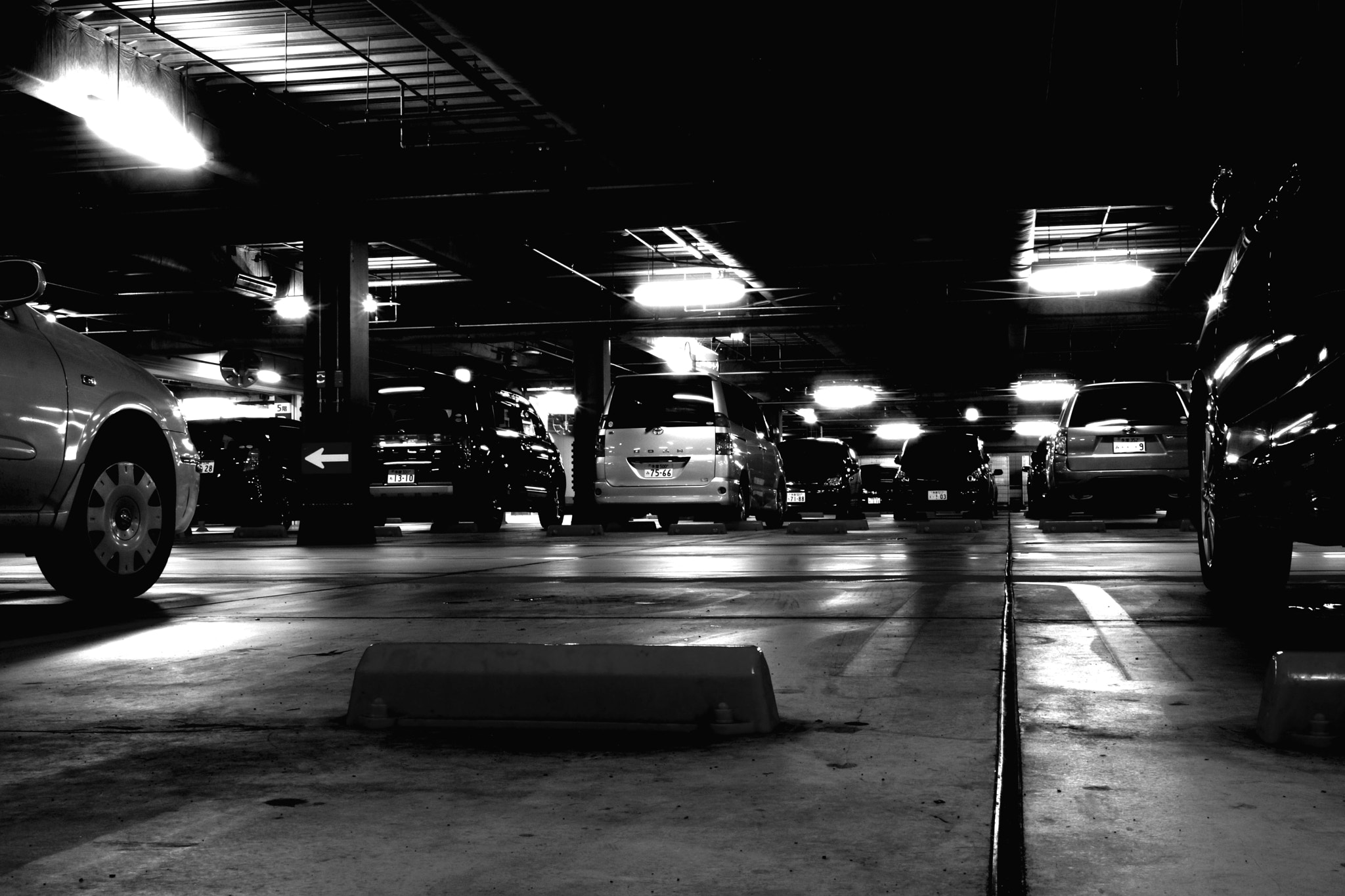 Photograph Parking by ALIENIZER Photography on 500px