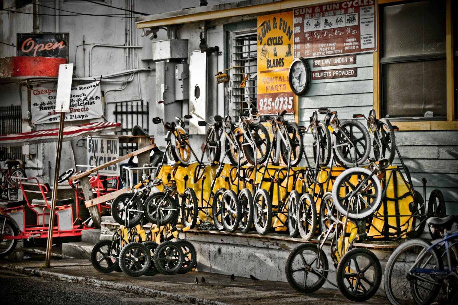 Photograph Bicycle Shop by Raul Frontal on 500px
