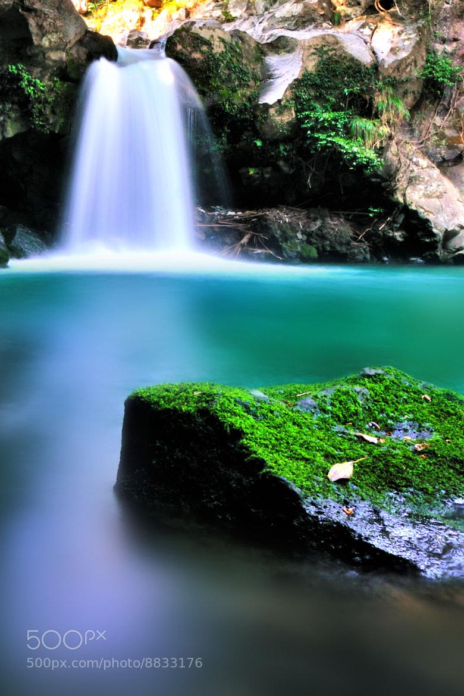 Photograph Waterfall by sugata masato on 500px